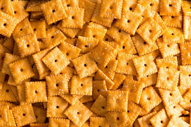 cheddar cracker snacks